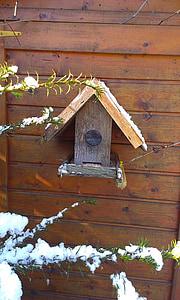 Птицеферма, птица семе, gartendeko, емисия, зависи от, птица фидер, хранене