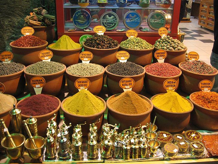 especias, Estambul, Bazar