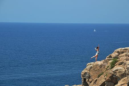 paisatge, Mar, paisatge d'estiu, paisatge de naturalesa, Costa