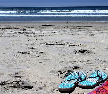 Califòrnia, l'aigua, oceà, platja, sorra, Mar, l'estiu