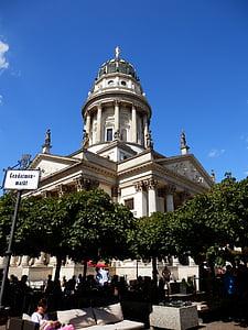 Берлін, Жандарменмаркт, літо, капітал, купол, Історично, Архітектура