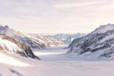 zimno, krajobraz, góry, Natura, na zewnątrz, skalista góra, sceniczny