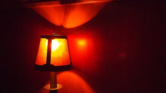 toplo, svetilka, svetlobe, svetlo, osvetljeni, pomirja, sijoča