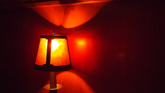 soe, lamp, valgus, ere, valgustatud, rahustav, särav