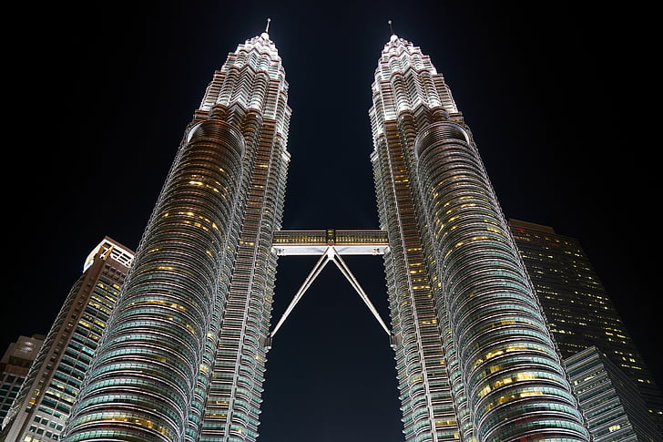 malaysia, skyscraper, building, structure, sky, great, buildings