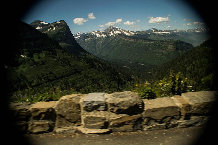 Glacera del parc nacional, natura, muntanya, Parc, a l'exterior, Montana