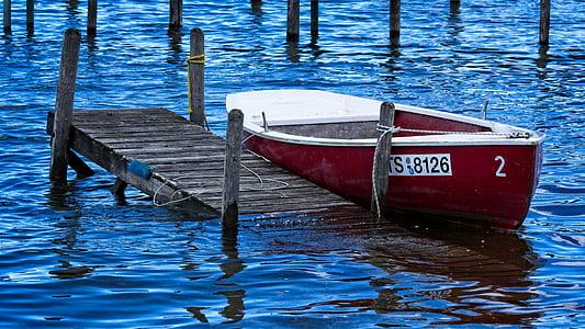 bota, Moll, barca de rems, passeig marítim, embarcador, web, oci