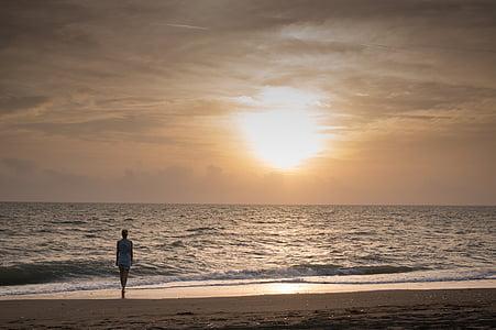 morje, Beach, sonce, počitnice, sončni zahod, pesek, čudovite plaže