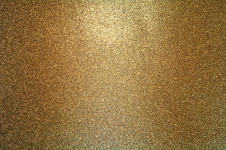 bakgrund, guld, Söt, konsistens, glitter, glittrig textur, guld textur