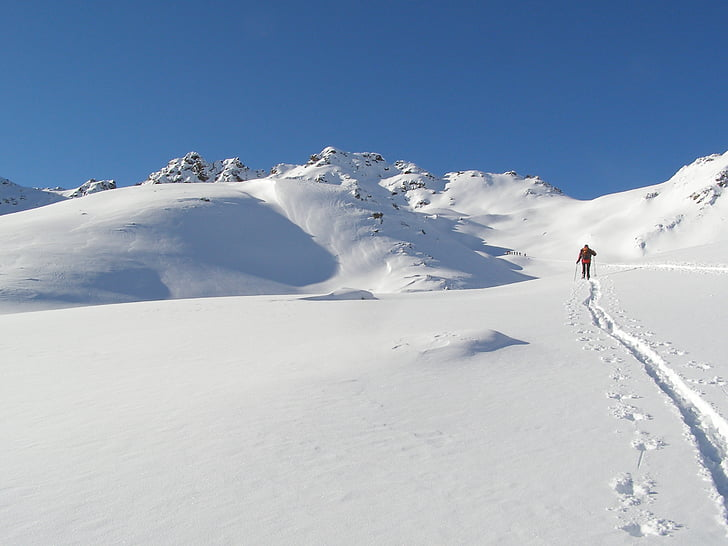 Ski, backcountry skiiing, Alpine, Touring ski, dyb sne, vinterlige, vinter