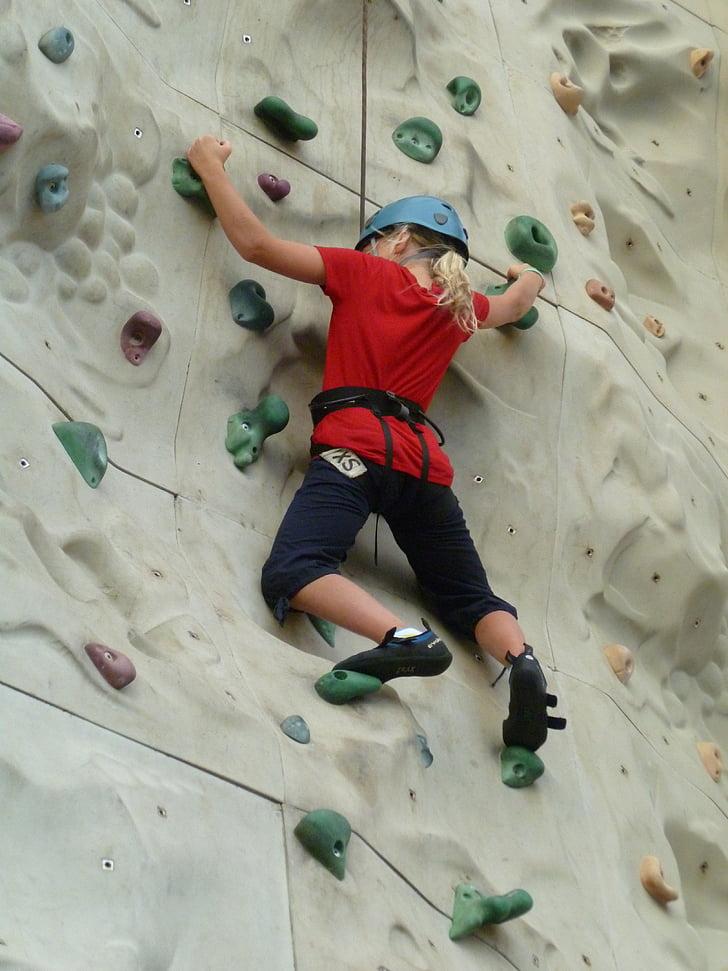 klatre, klatring, sport, klatrer, eventyr, aktivitet, aktiv