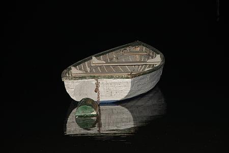 βάρκα, Τη νύχτα, Λίμνη Μπάλατον, νερό, κατηγοριοποίηση, προκυμαία, Λίμνη