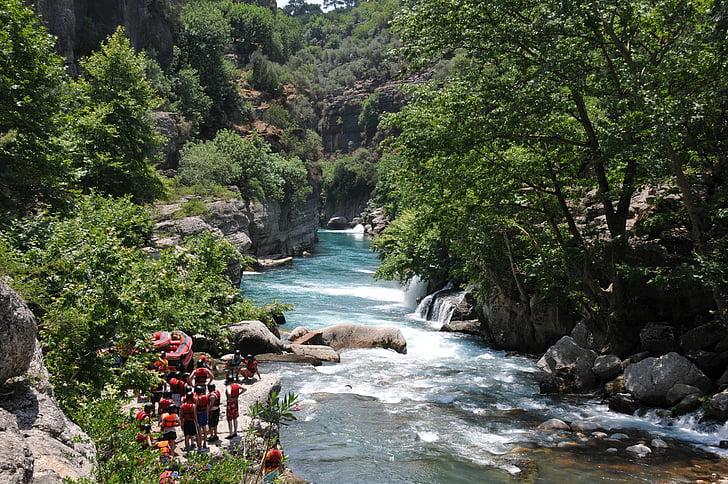 jõgi, Canyon, Travel, Türgi