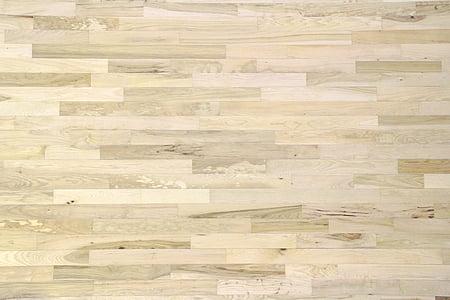 assoalho de madeira, Pinheiro, quadra de basquete, madeira, piso, madeira, de madeira