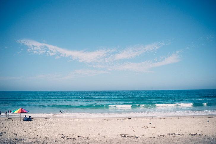 люди, берег моря, день, час, пляж, море, морські пляжі