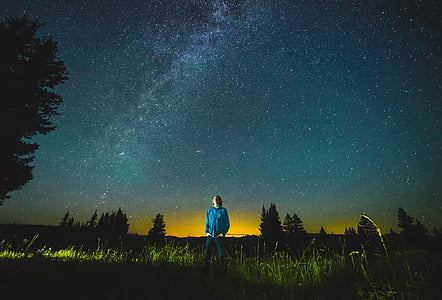 stars, starry sky, sky, night, galaxy, universe, atmosphere