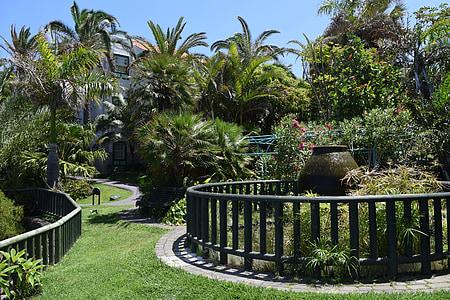 Àmfora, jardí, disseny de jardins, Parc