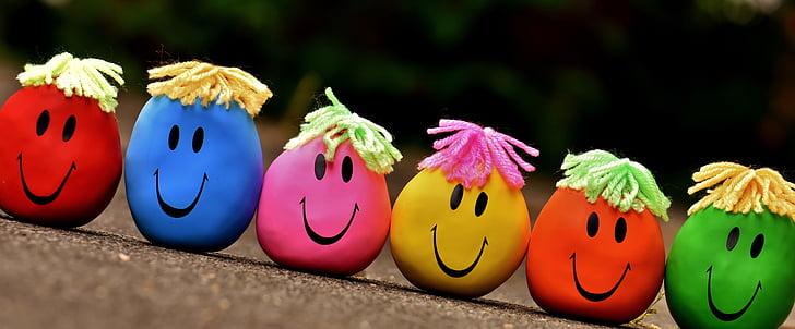 антистрес топки, Забавни десантни, усмивки намаляване на стреса, Споявам, Смешно, цветни, цвят