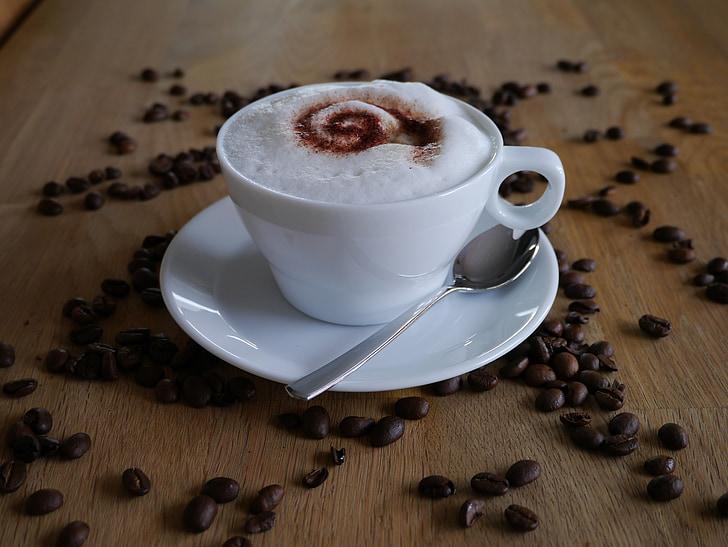 cafè, Copa, Caputxí, beguda, cafeteria, cafeïna, beneficiar-se de