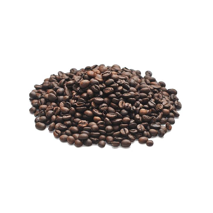 kohvi, terad, Arabica, Praetud, kohvioad, röstitud kohv, tera