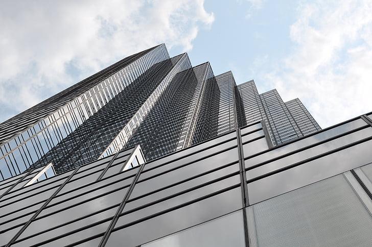 new york, city, bulding, view, aerial, manhattan, big city