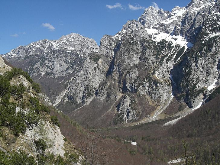 nature, mountain, slovenia