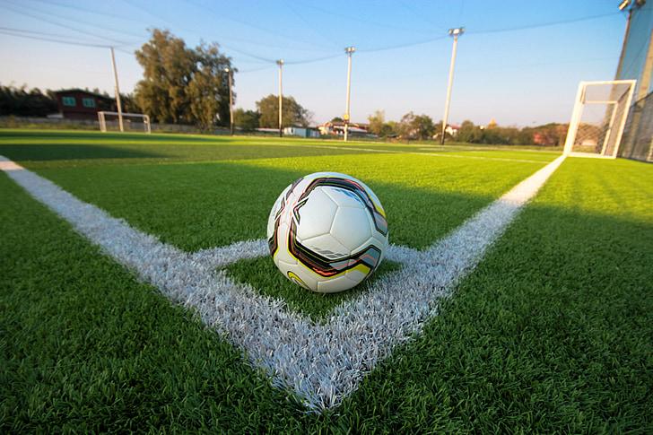 futbol, club de golf, camp de futbol, herba