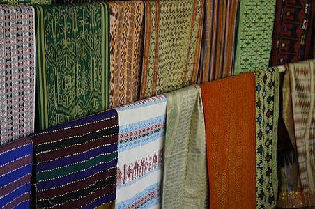 textilné, deky, farebné, Shop, viac farebné, kultúr, móda