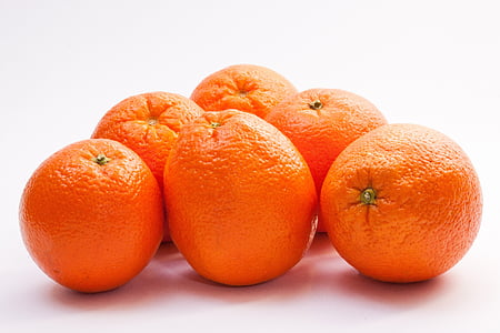 pomarańcze Navel, pomarańcze, Bahia pomarańczowy, Citrus sinensis, owoców cytrusowych, owoce, pomarańczowy
