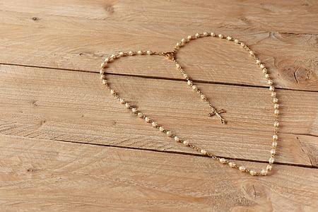 Rosari, pregària, primera comunió, perles, Creu, pregar, fe