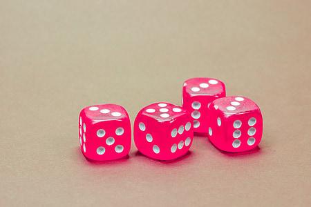 kocka, játék kocka, pillanatnyi sebesség, fizetés, játék, póker, Játssz pókert