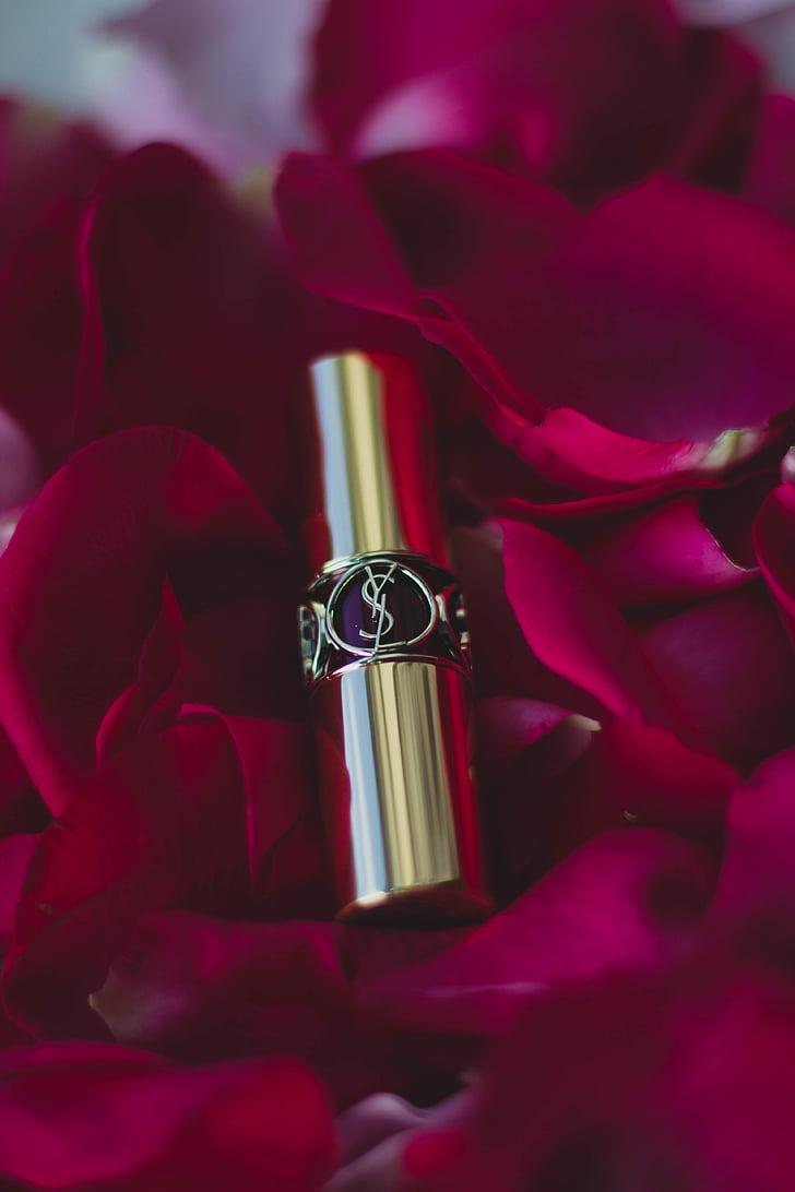 Rúž na pery, krása, móda, make-up, Kolekcia, kozmetiky, Petal
