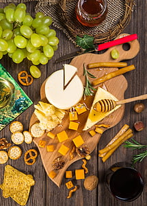 ชีส, อาหาร, โภชนาการ, จาน, อร่อย, อาหารว่าง, จาน