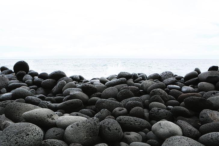 stranden, Ocean, Rocks, havet, Seascape, Seashore, Shore