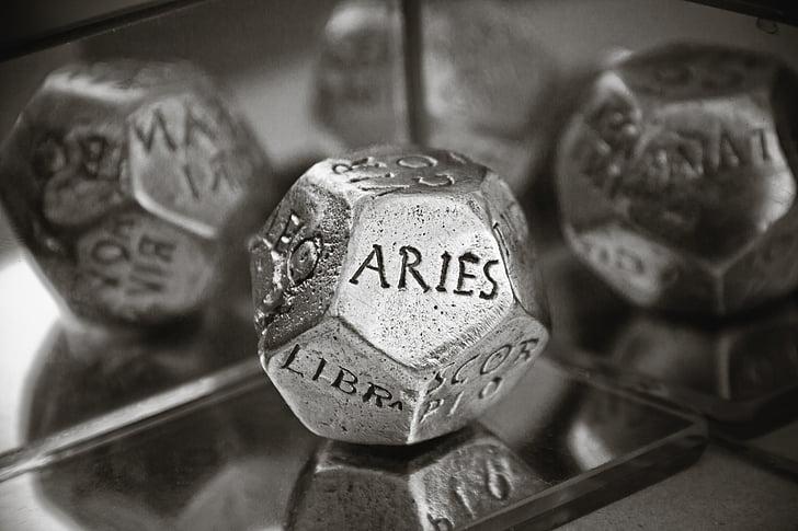 concept, Astrologie, Aries, universe, magie, surrealistisch, mysterie