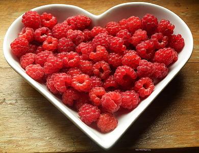 vaarikad, marja, puuviljad, toidu, punane, roosa, söödav