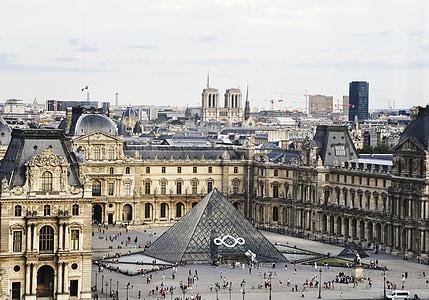 Pariis, Prantsusmaa, Holiday, Louvre, muuseum, Külasta, ülejäänud