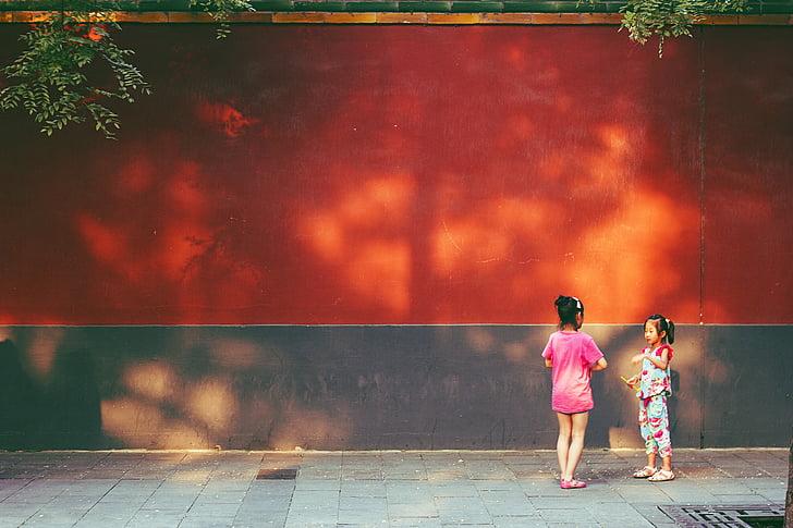 beijing, china, children