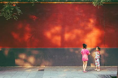 Pequín, Xina, nens