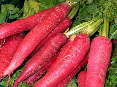 červené reďkovky, zelenina, Jedzte zdravo, jesť, zdravé, jedlo, vitamíny
