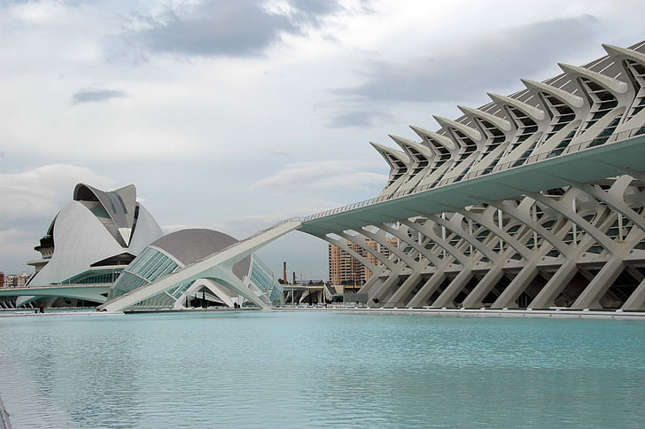 architecture, city of sciences, city of arts and sciences, valencia
