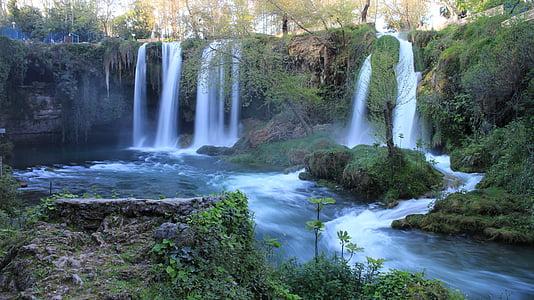 juga, juga antalya, Türgi, maastik, jõgi, Splash, Antalya