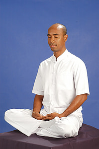 inner peace, man, buddhist, meditate, wat, phra dhammakaya, temple