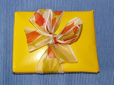 gift, birthday, made, festival, celebration, give, pack