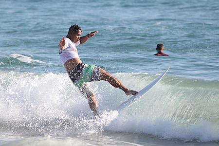 surfeur, planche de surf, Surf, vague, eau, Surf, océan