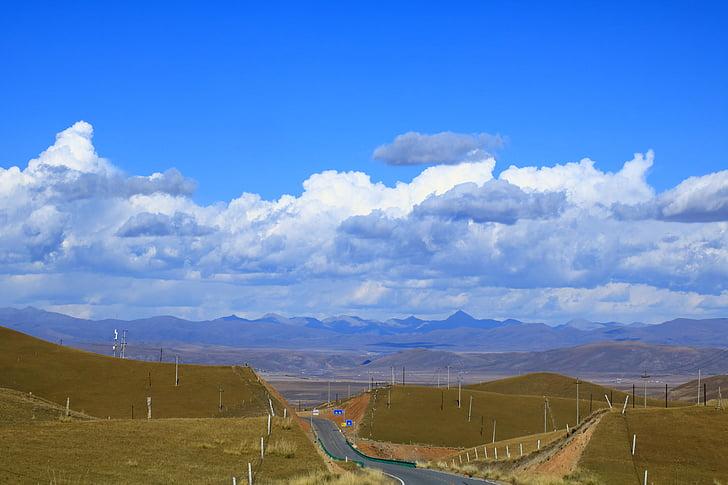 86+ Gambar Pemandangan Langit Biru