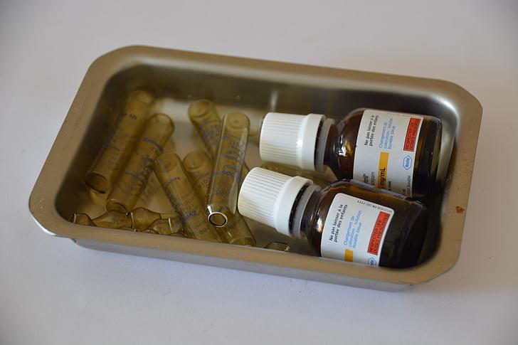 fàrmacs, Medicina, bombetes, l'atenció, ampolles, mèdica