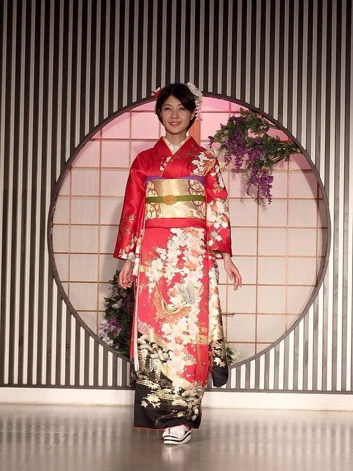 japonesa de la moda, quimono, moda quimono
