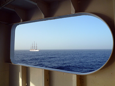 havet, Frakt, Yacht, fartyg, segelbåt, Grekland, Medelhavet