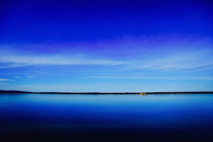 blau, Mar, marí, cel